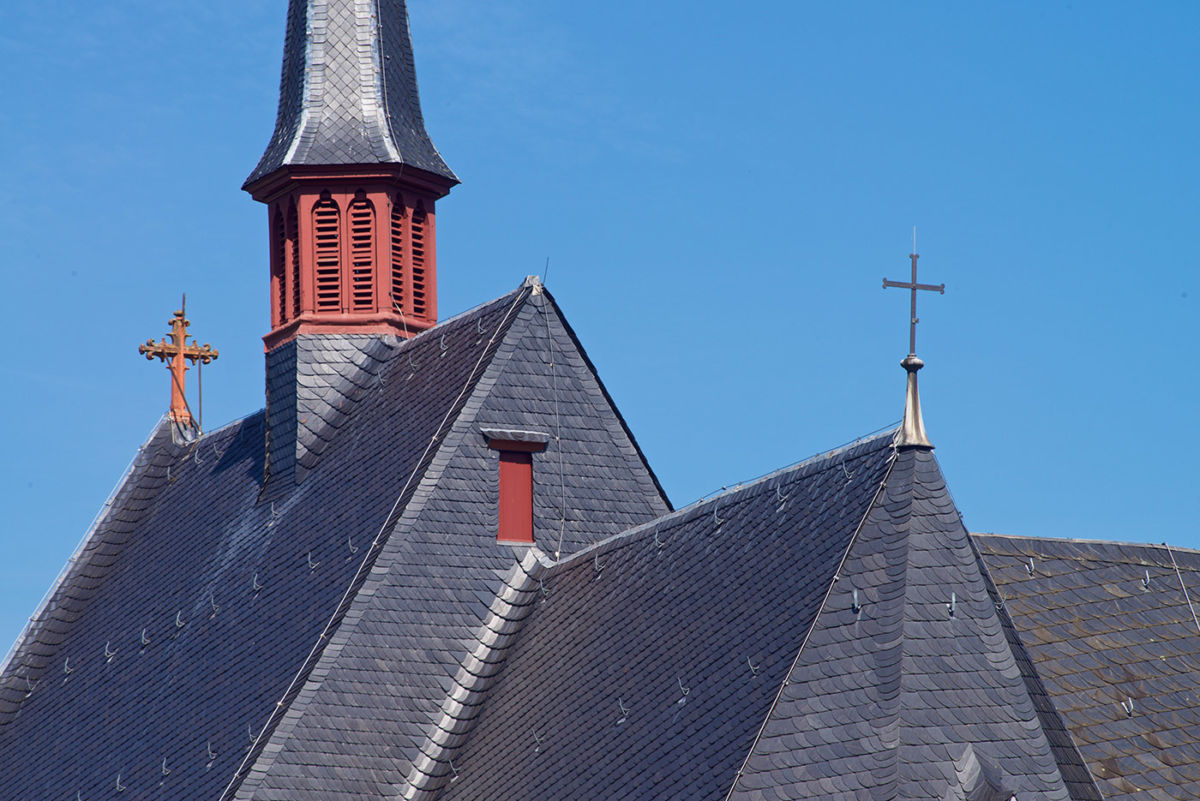 Architektur Fotografie, Cusanusstift Bernkastel Kues, Kunde Dachdecker Herges