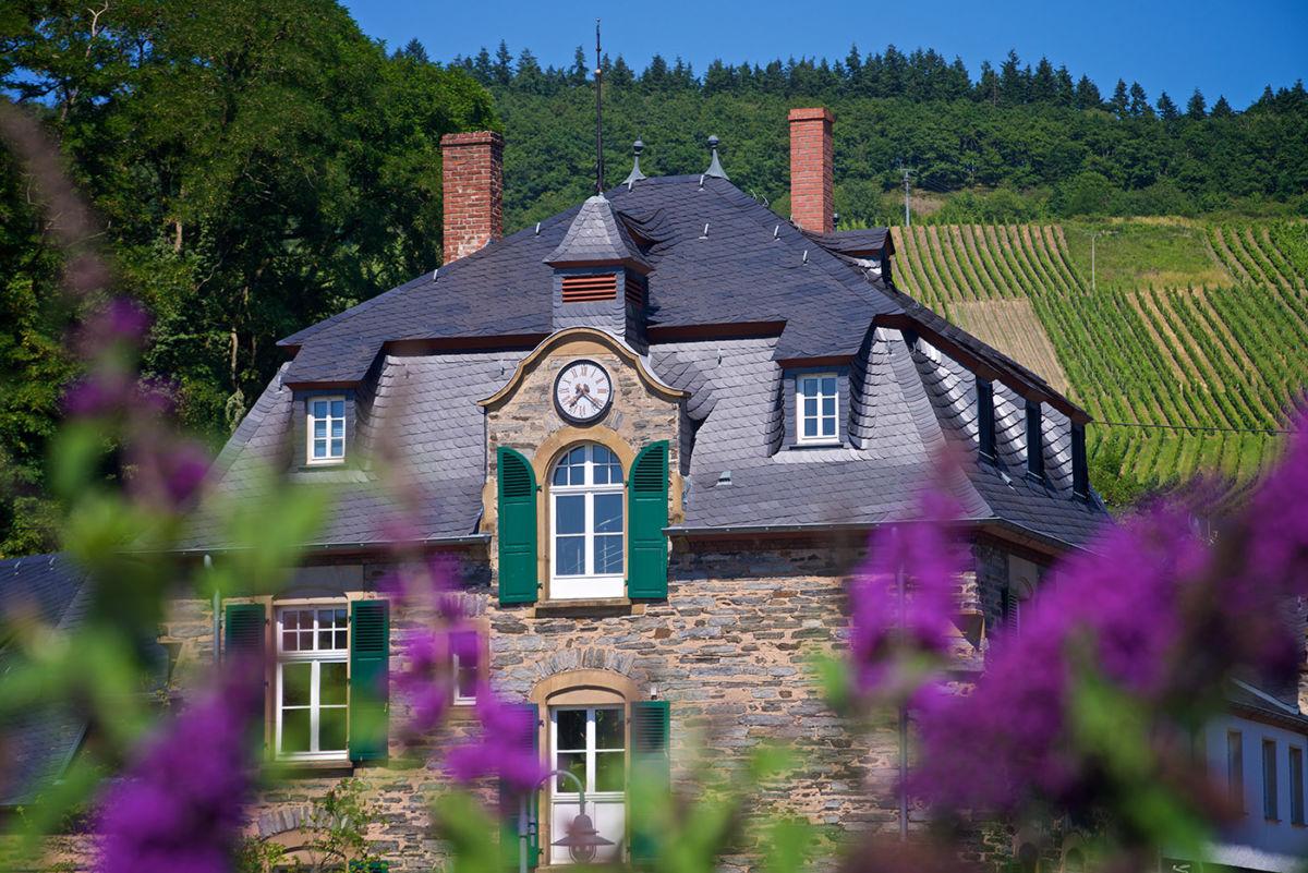 Architektur-Foto Weingut Schloss Lieser, historisches Gebäude