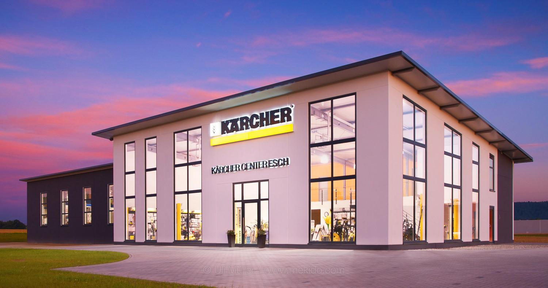 Architekturfoto für die Firma Kärcher