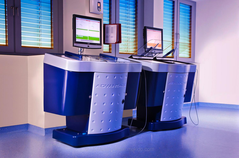 Escad Medical Advantage, Fotocomposing, erstellt durch mehrere einzelne Aufnahmen im Klinikum Wittlich